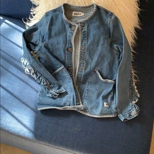 Molo Jackets & Coats - MOLO denim jacket with pockets and...